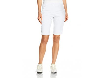 PUMA dámské kraťasy Solid Tech bílé (Velikost oblečení 40)