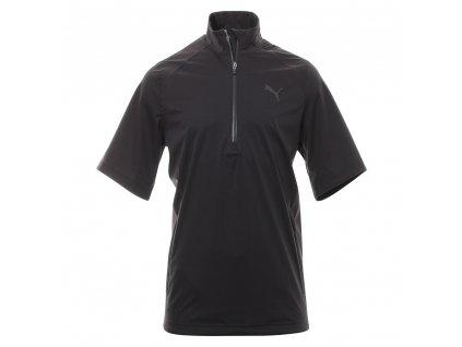 Puma Short Sleeve Rain Popover černý (Velikost oblečení XS)