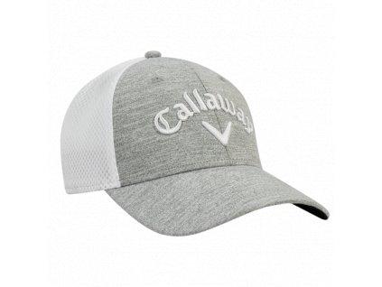 CALLAWAY pánská čepice Mesh Fitted šedo-bílá (Velikost oblečení L XL) ccbdd5b08b