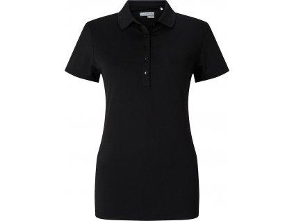 CALLAWAY dámské tričko Micro Hex černé