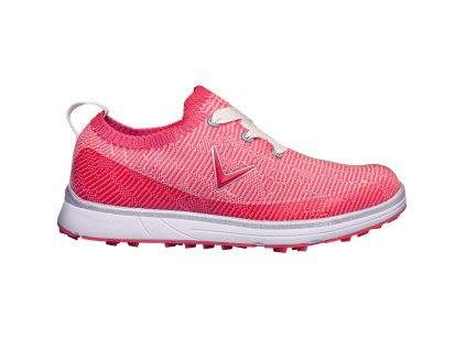 CALLAWAY W636-86 Solaire dámské golfové boty růžové z boku