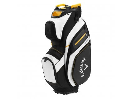 Callaway Org 14 Mavrik cart bag na vozík černo-bílo-oranžový