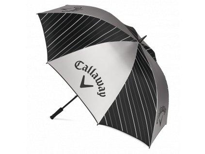 """CALLAWAY UV deštník single canopy 64"""" černo-šedo-bílý"""