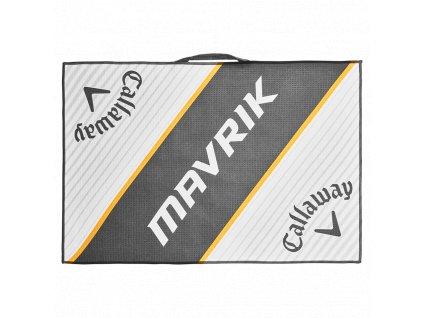 CALLAWAY Mavrik ručník bílo-šedo-oranžový