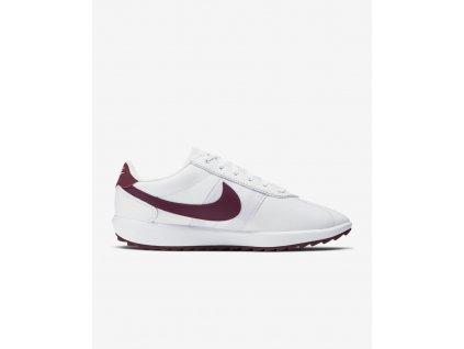 NIKE Cortez G dámské golfové boty bílo-fialové