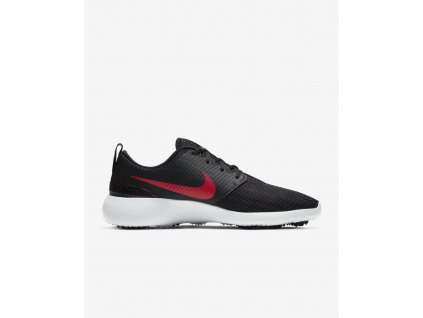 NIKE Roshe G pánské golfové boty černo-červené