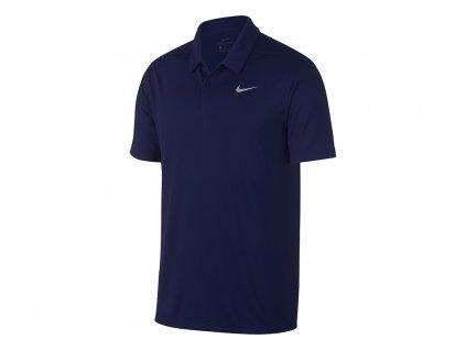 NIKE Dry Essential Solid pánské tričko modré zepředu