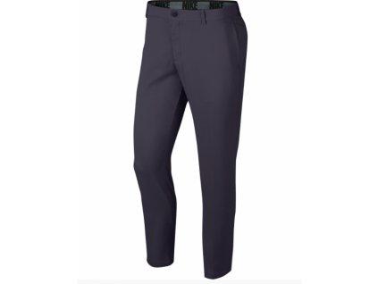 NIKE Flex Slim Core pánské golfové kalhoty šedé zepředu