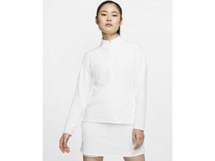 NIKE Dry-FIT UV Victory Full Zip dámská bunda bílá