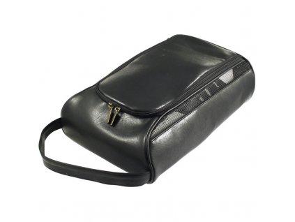 MASTERS Leatherette Shoe Bag černý