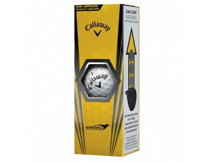 CALLAWAY golfové míčky Warbird 17 (3 ks)