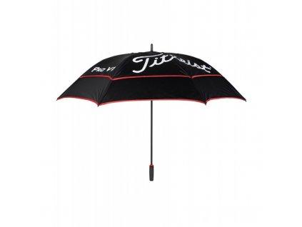 TITLEIST Players double canopy deštník černý