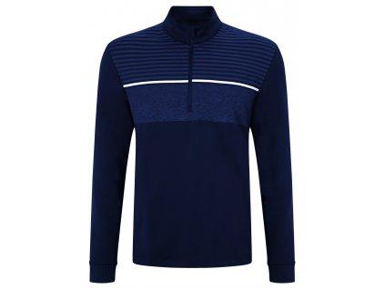 CALLAWAY mikina Chest Striped modrá (Velikost oblečení XL)
