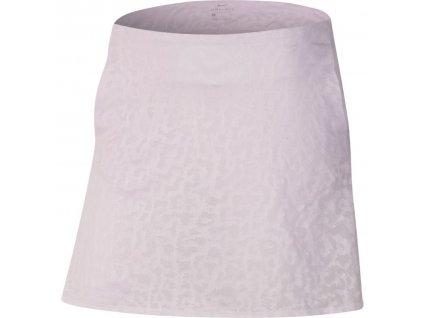 NIKE Dry-FIT UV Victory dámská sukně bílá zepředu
