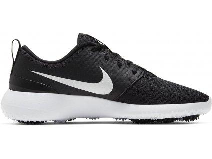 NIKE Roshe G pánské golfové boty černo-bílé