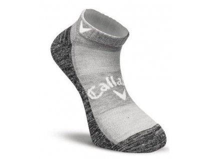 CALLAWAY Tour Optidri Low pánské ponožky šedé