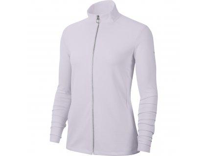 NIKE Dry-FIT UV Victory Full Zip dámská bunda světle fialová zepředu