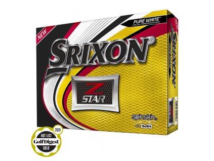 SRIXON Z Star 6 golfové míčky bílé (12 ks)