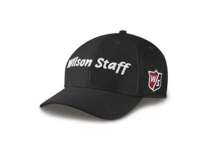 WILSON pánská čepice W/S Tour Mesh černá