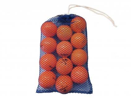 Síťka hraných míčků oranžové A/B (12 ks)