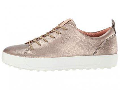 ECCO dámské boty Golf Soft khaki/zlatá
