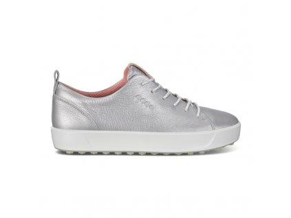 ECCO dámské boty Golf Soft stříbrná
