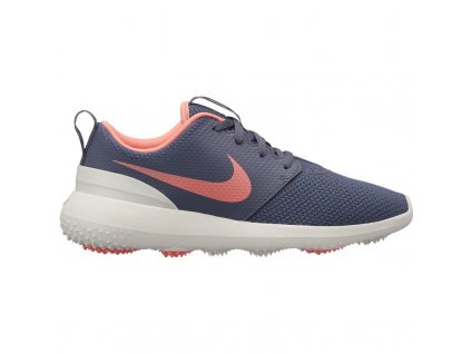 NIKE Roshe G dámské golfové boty šedo-růžové