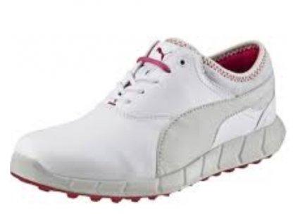 PUMA dámské boty Ignite Spikeless bílo-šedé