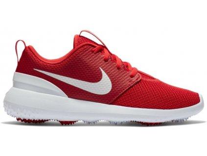 NIKE Roshe G dětské golfové boty červené