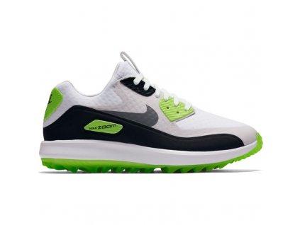 NIKE Air Zoom 90 IT dámské golfové boty šedo-bílo-zelené