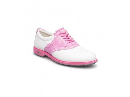 ECCO dámské boty Golf Hybri bílo-růžové