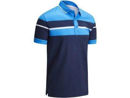 CALLAWAY Chest Block pánské tričko modré