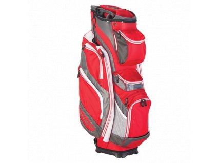 CALLAWAY bag na vozík Org 14L červeno-šedo-bílý  + Golfová pravidla