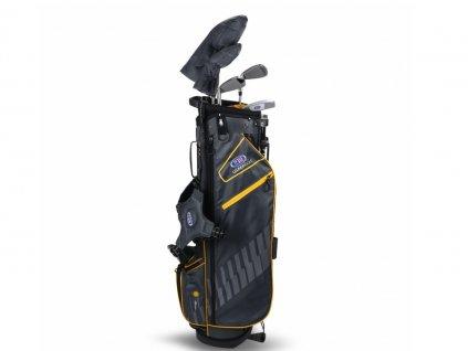 US Kids Golf WT10-s dětský golfový set UL63 (160 cm) šedivo-zlatý  + Velké balení týček 20 ks