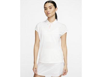 NIKE Dry-Fit Ace dámské tričko bílé