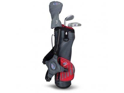 US Kids Golf WT30-s dětský golfový set UL39 (99 cm) šedivo-červený