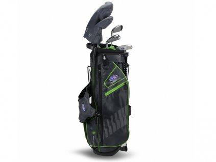 Zapůjčení - US Kids Golf WT15-s dětský golfový set UL57 (145 cm) šedivo-zelený