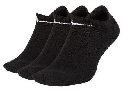 NIKE Everyday Cushioned ponožky černé 3 páry