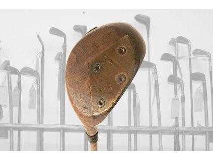 Historické golfové dřevo Mannton & Co