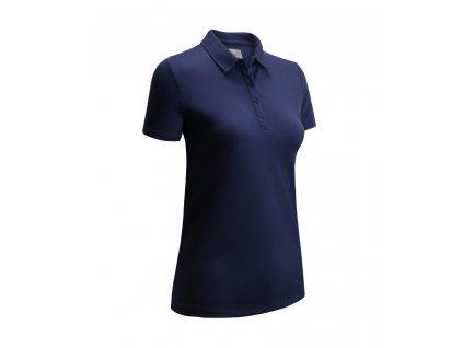 CALLAWAY Swing Tech Solid dámské tričko modré zepředu