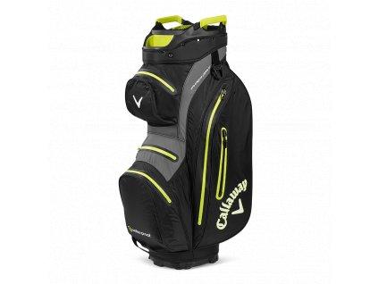 CALLAWAY Hyper Dry 15 cart bag na vozík černo-limetkový