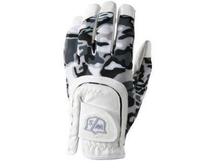 WILSON junior FIT-ALL rukavice bílo/černá