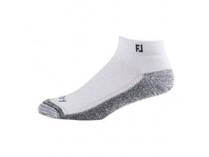 FOOTJOY pánské golfové ponožky ProDry Sport bílé
