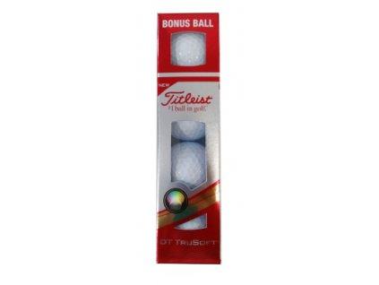 TITLEIST golfové míčky DT TRUSOFT 6D (4 ks)