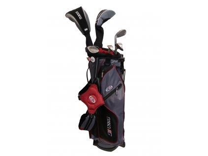 Zapůjčení - US Kids Golf WT10-s dětský golfový set UL60 (152 cm) šedivo-červený