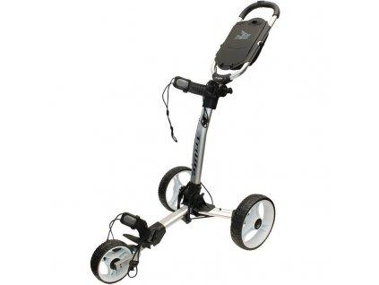 AXGLO golfový vozík TRILITE šedo-bílý