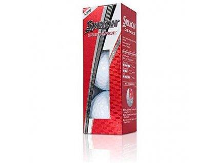 SRIXON Distance 9 golfové míčky - (3 ks)