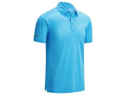 CALLAWAY pánské tričko Box Jacquard modré