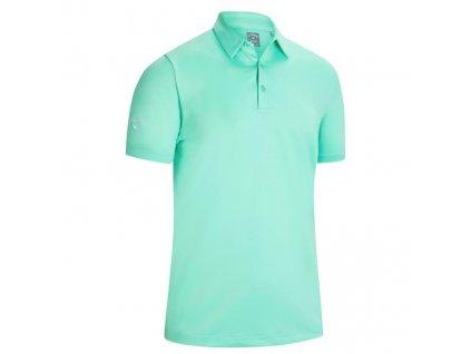 CALLAWAY Swingtech Solid pánské tričko světle zelené