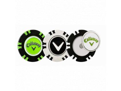 CALLAWAY sada markovátek pokerové žetony 3ks